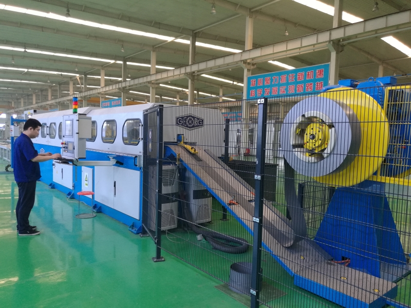Georg silicon steel sheet horizontal cutting line